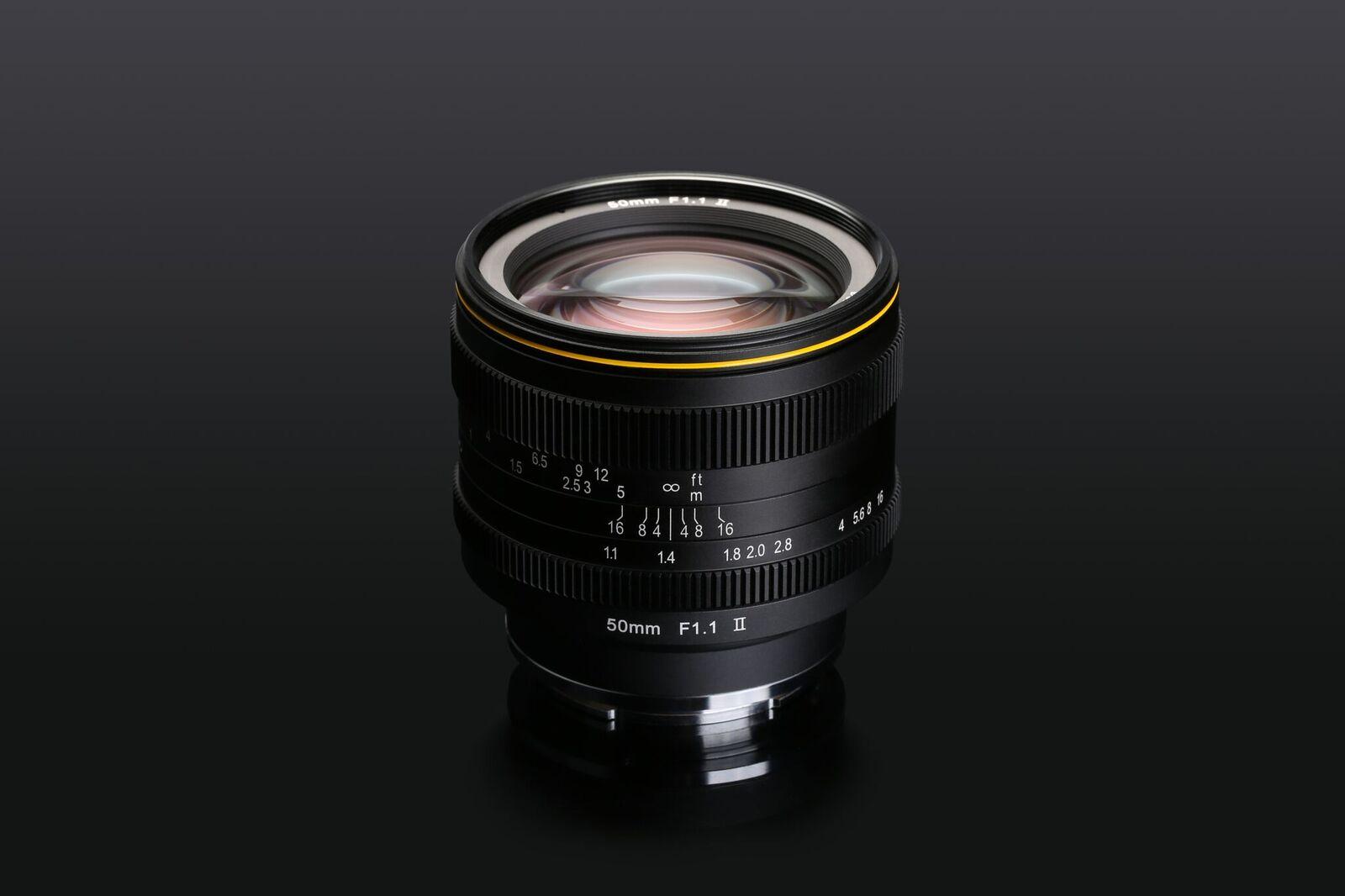 KAMLAN-KL 50MM-F1.1二代镜头众筹完美收官