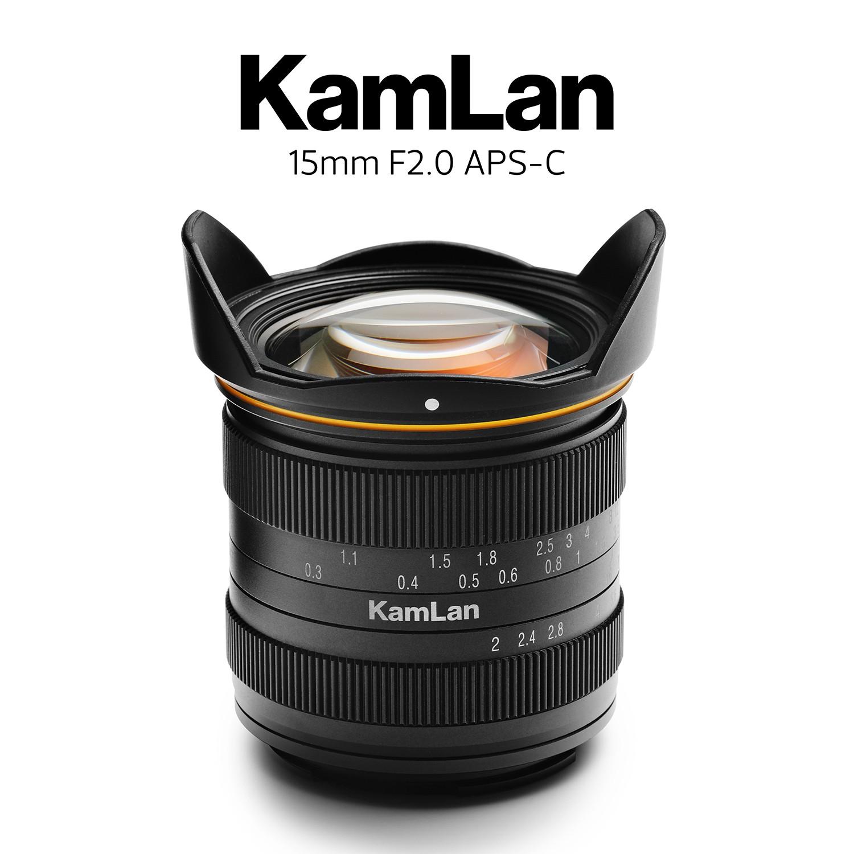 KAMLAN新品 KL15MM F2.0